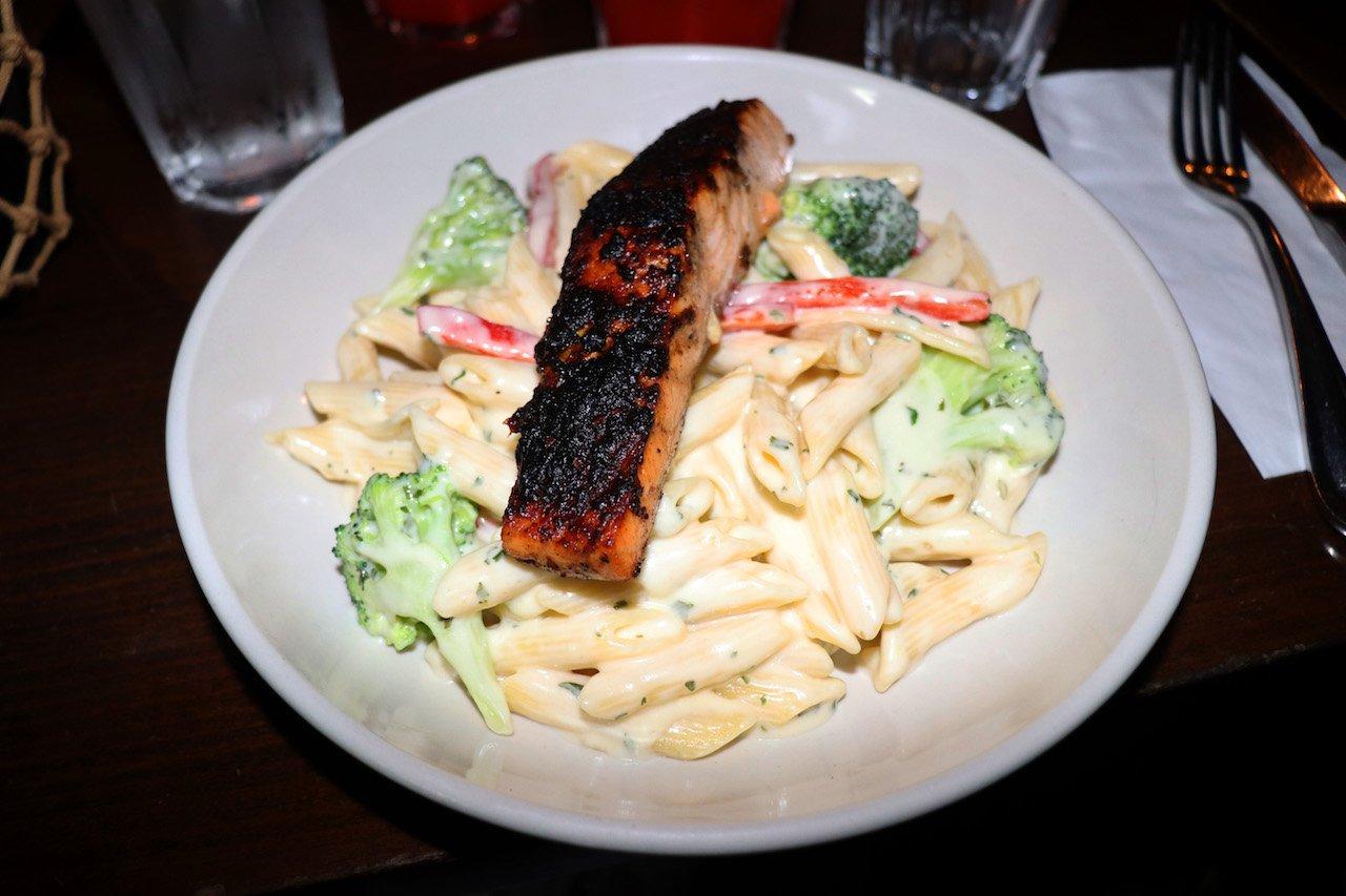 MangoSeed Salmon Pasta