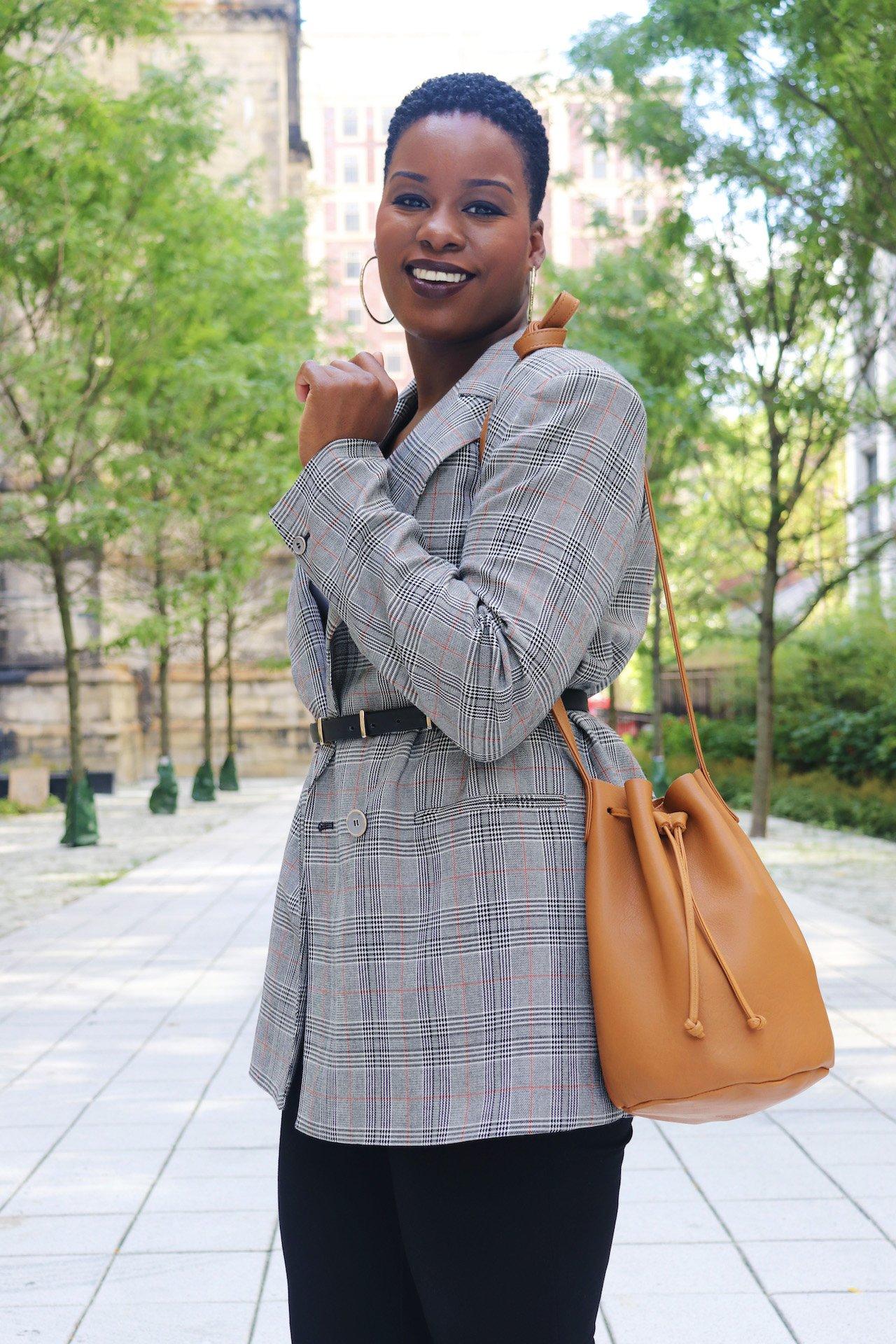 Drawstring Bag Trend Baggu Leather Bucket Bag