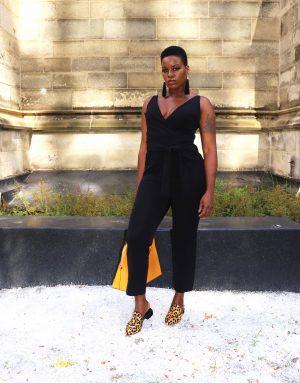 Basic Black Jumpsuit NYFW