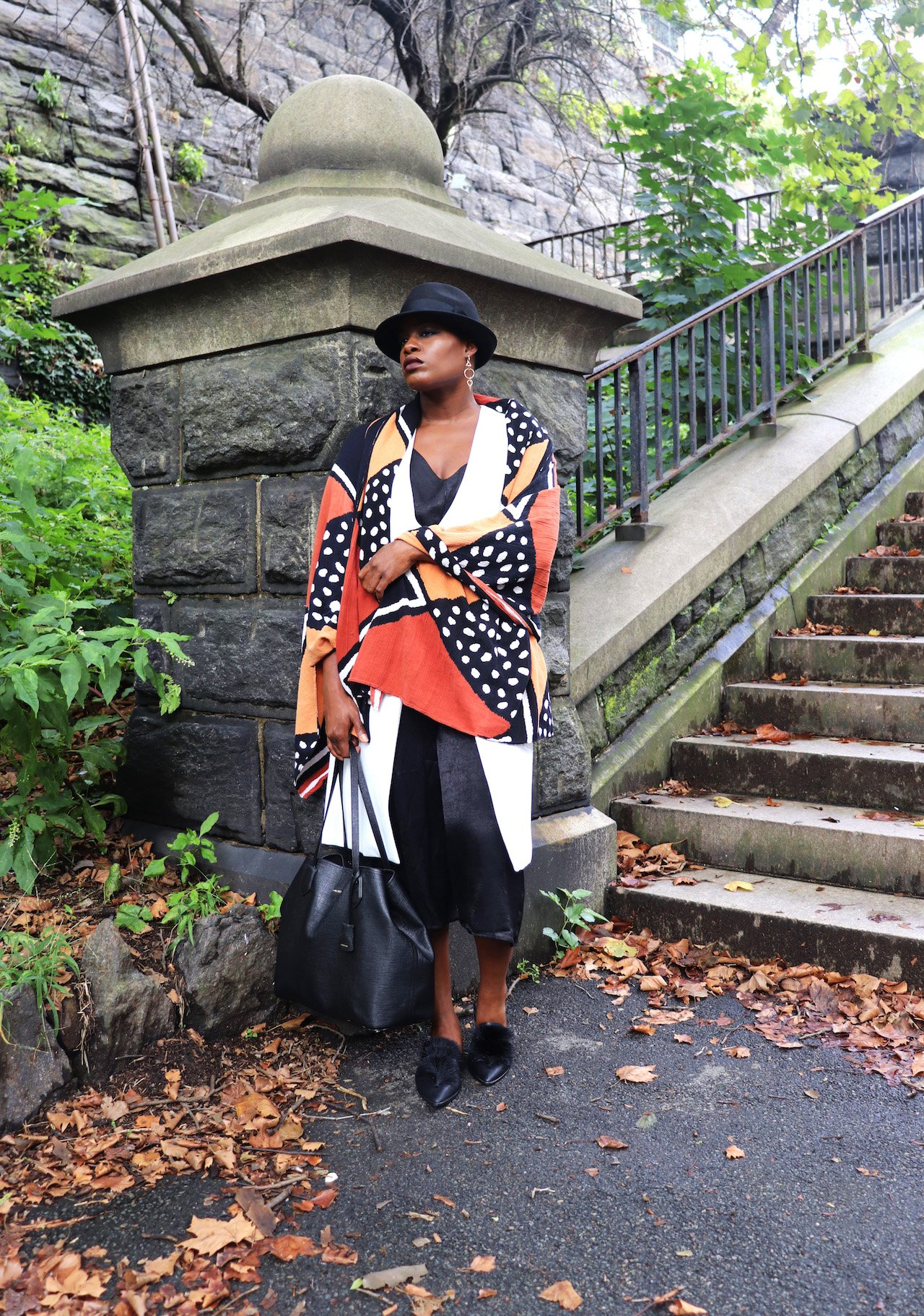 Summer To Fall Transitional Outfit