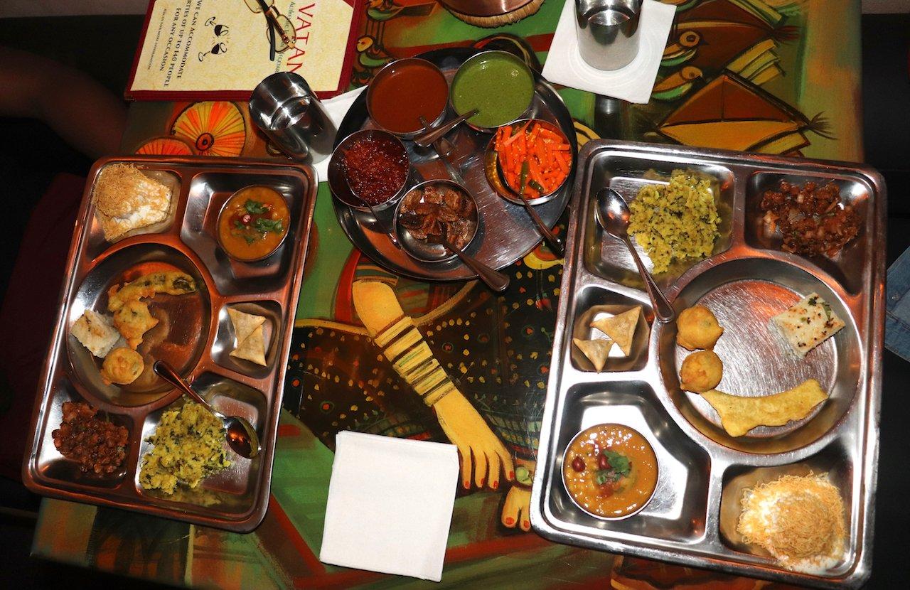 Vatan NYC Appetizer Thali