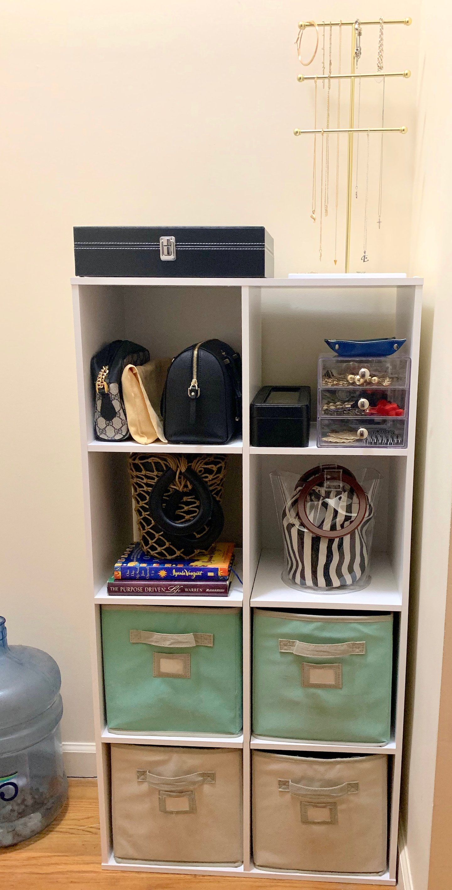 How To Use Cube Storage As Dresser