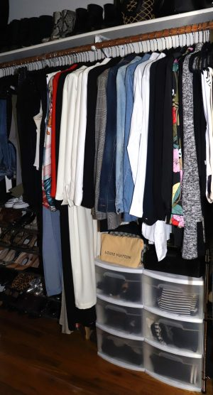 How To Purge & Organize Your Small NYC Closet