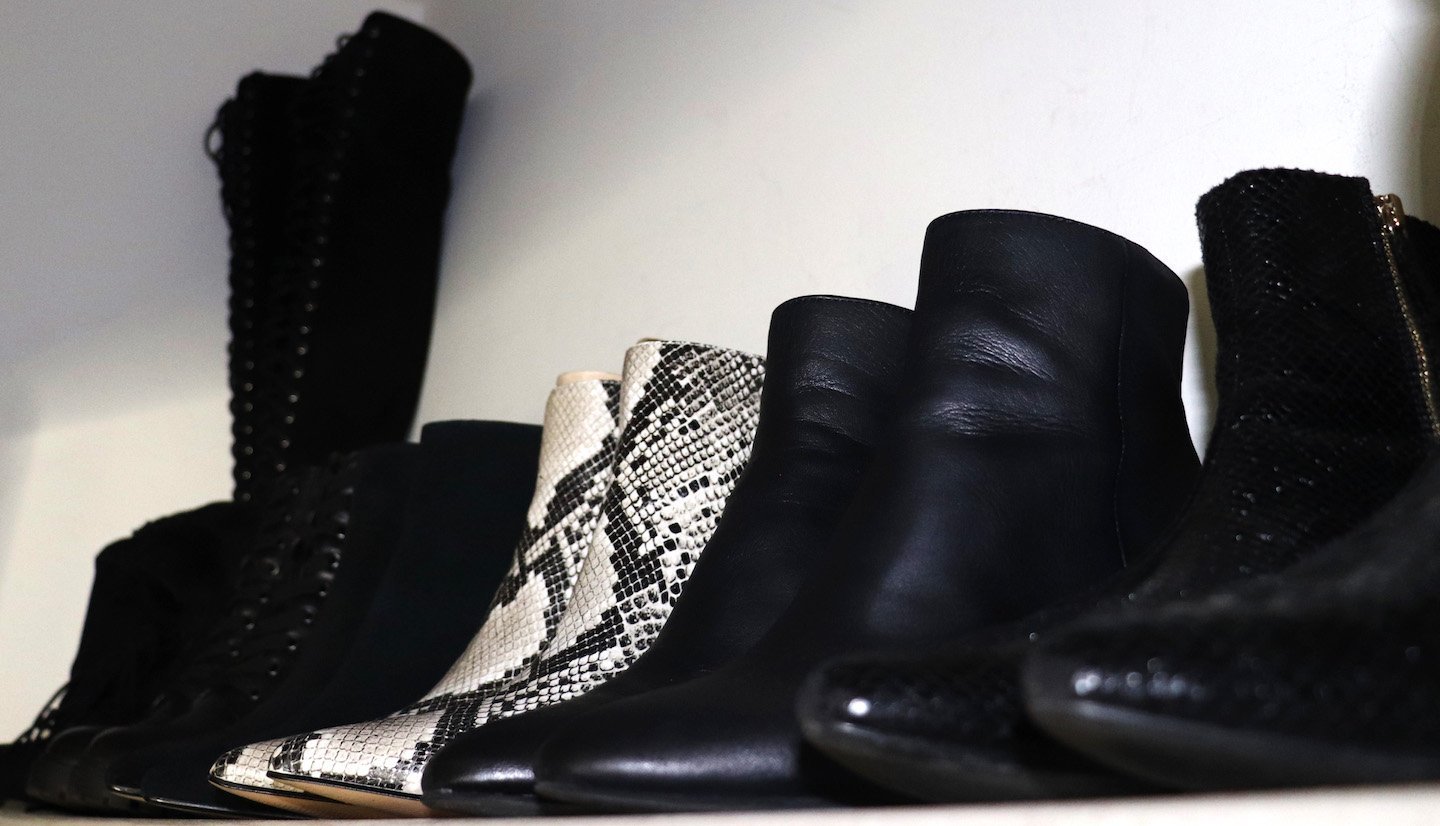 How To Organize Your Small NYC Closet Boots