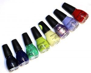 Sinful Colors Conjured Color Halloween Collection Swatches & Review