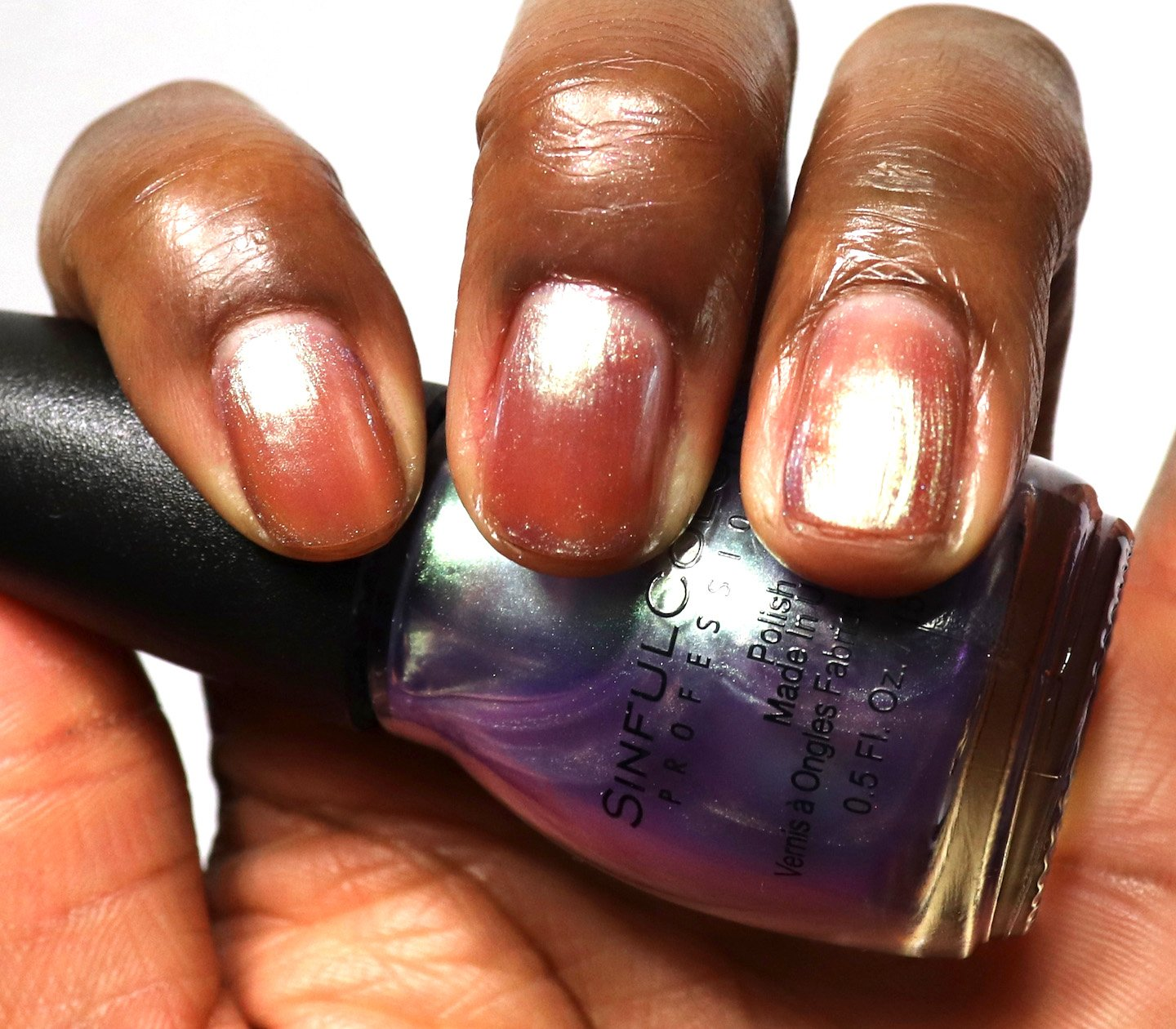 Sinful Colors Conjured Color Let Me Go Swatch