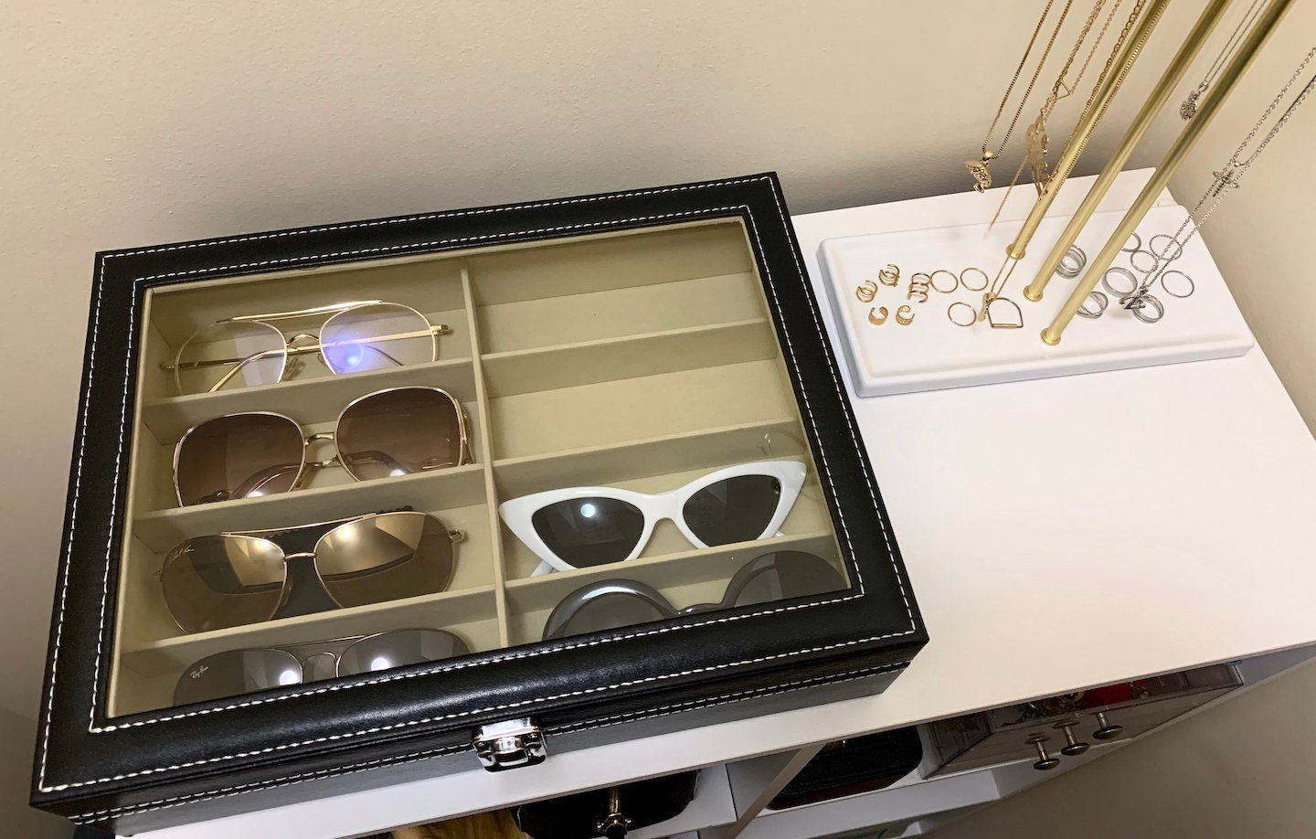 How To Organize Your Sunglasses