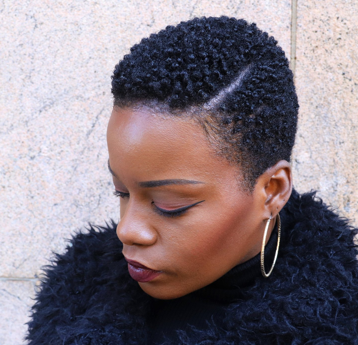 4C Tapered TWA with Side Part