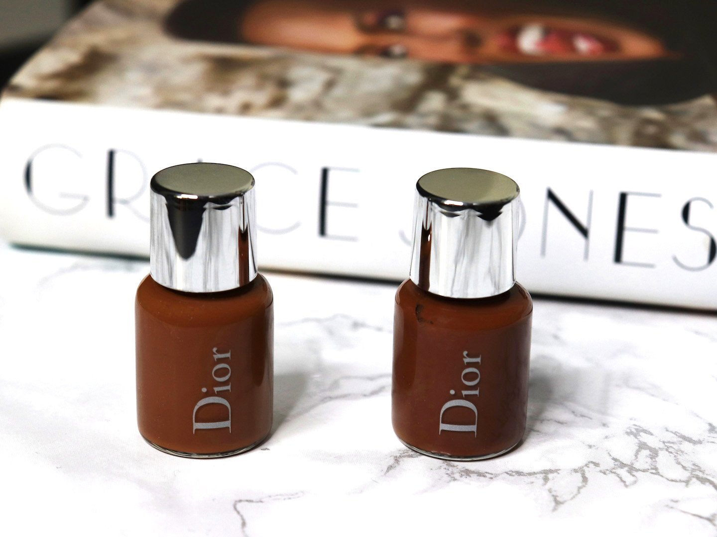 Dior Face & Body Foundation 6N & 7N Swatches & Review