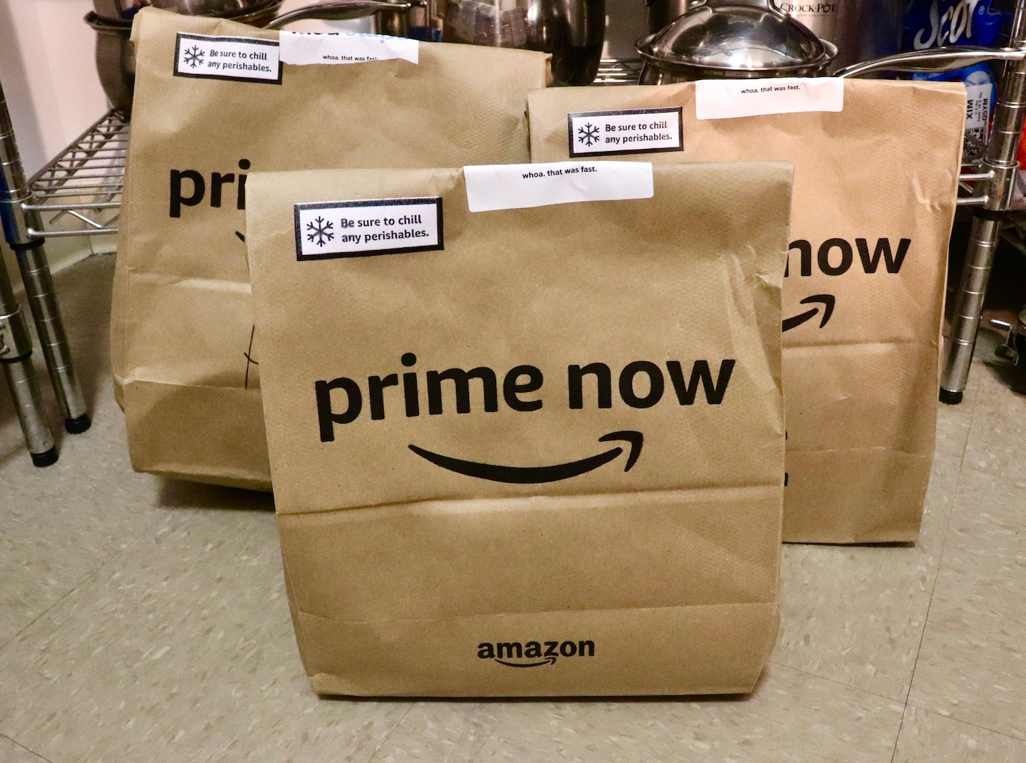 Grocery Shopping Online Prime Now