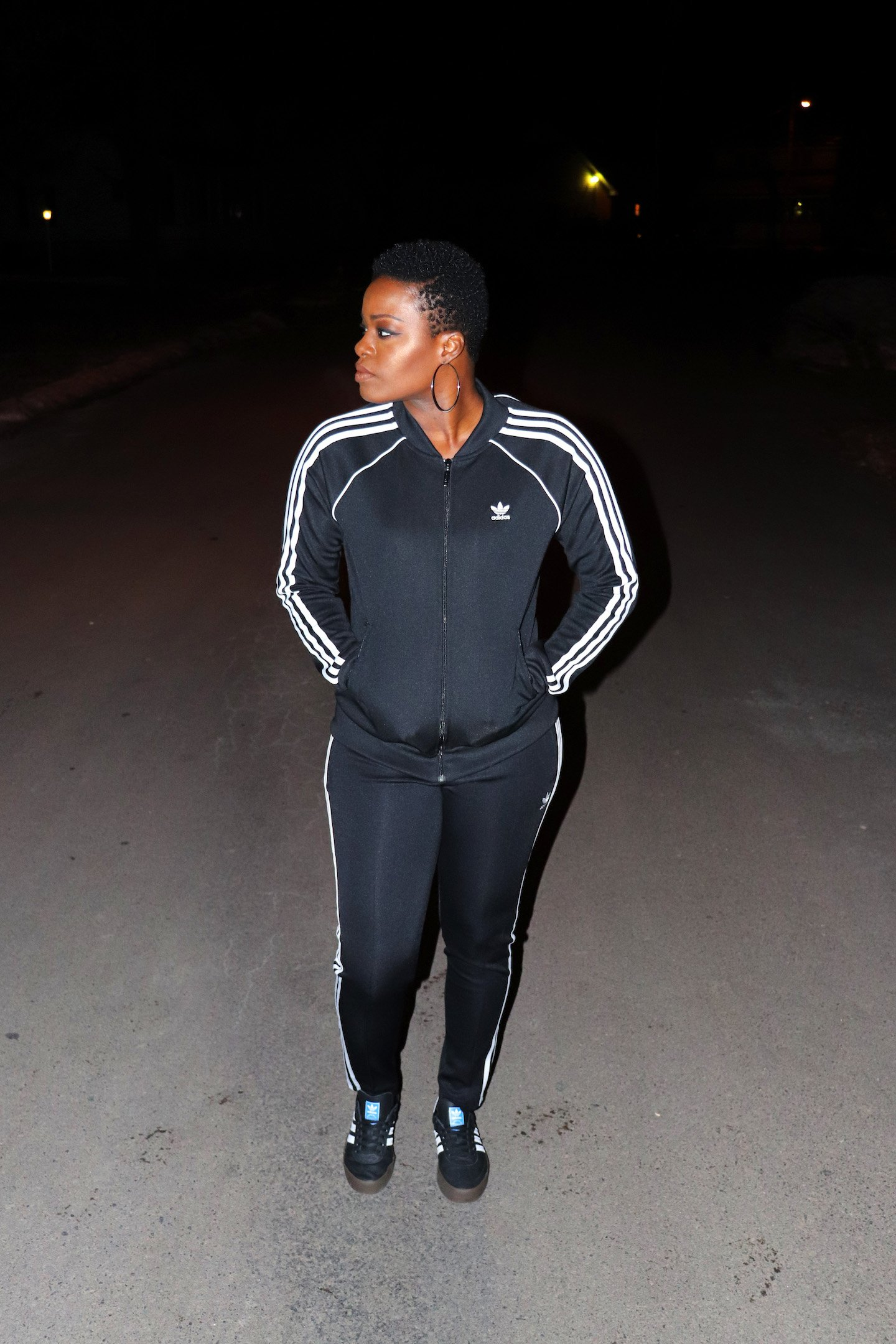 How To Wear An Adidas Track Suit