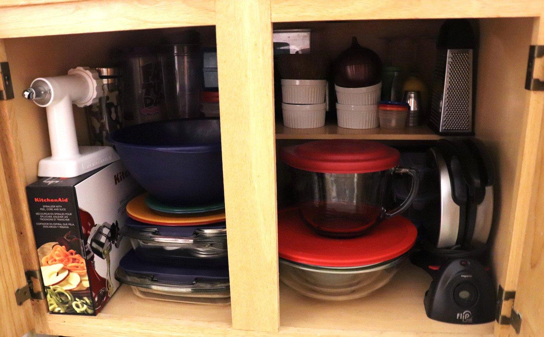 Pyrex Storage In Small Kitchen