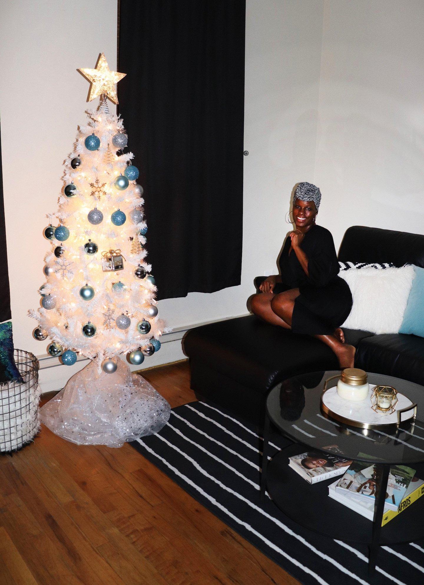 Stylish Christmas Tree To Match Home Decor