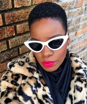 Bold Lip Fenty Beauty Unlocked Stunna Lip Paint On Dark Skin