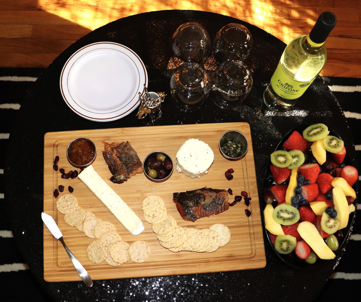 Galentine's Day Brunch Charcuterie Board