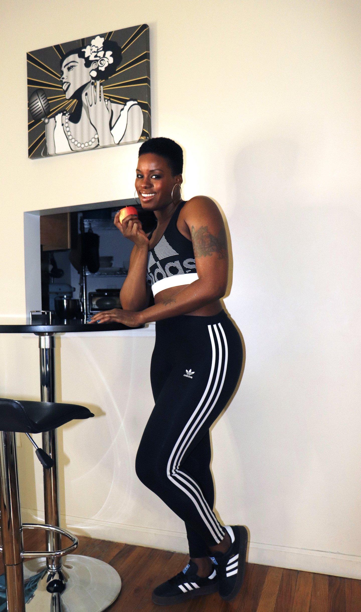 Fitness Journey adidas Workout Gear