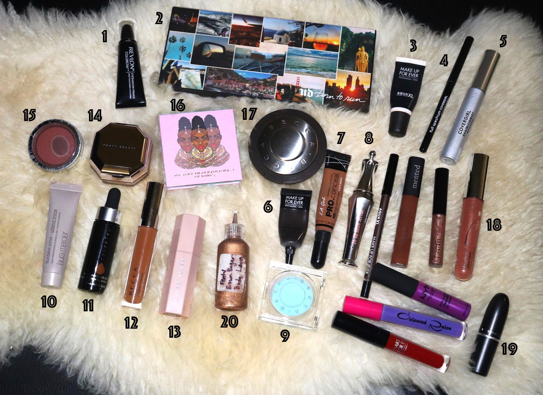 Travel Beauty Bag Makeup Picks