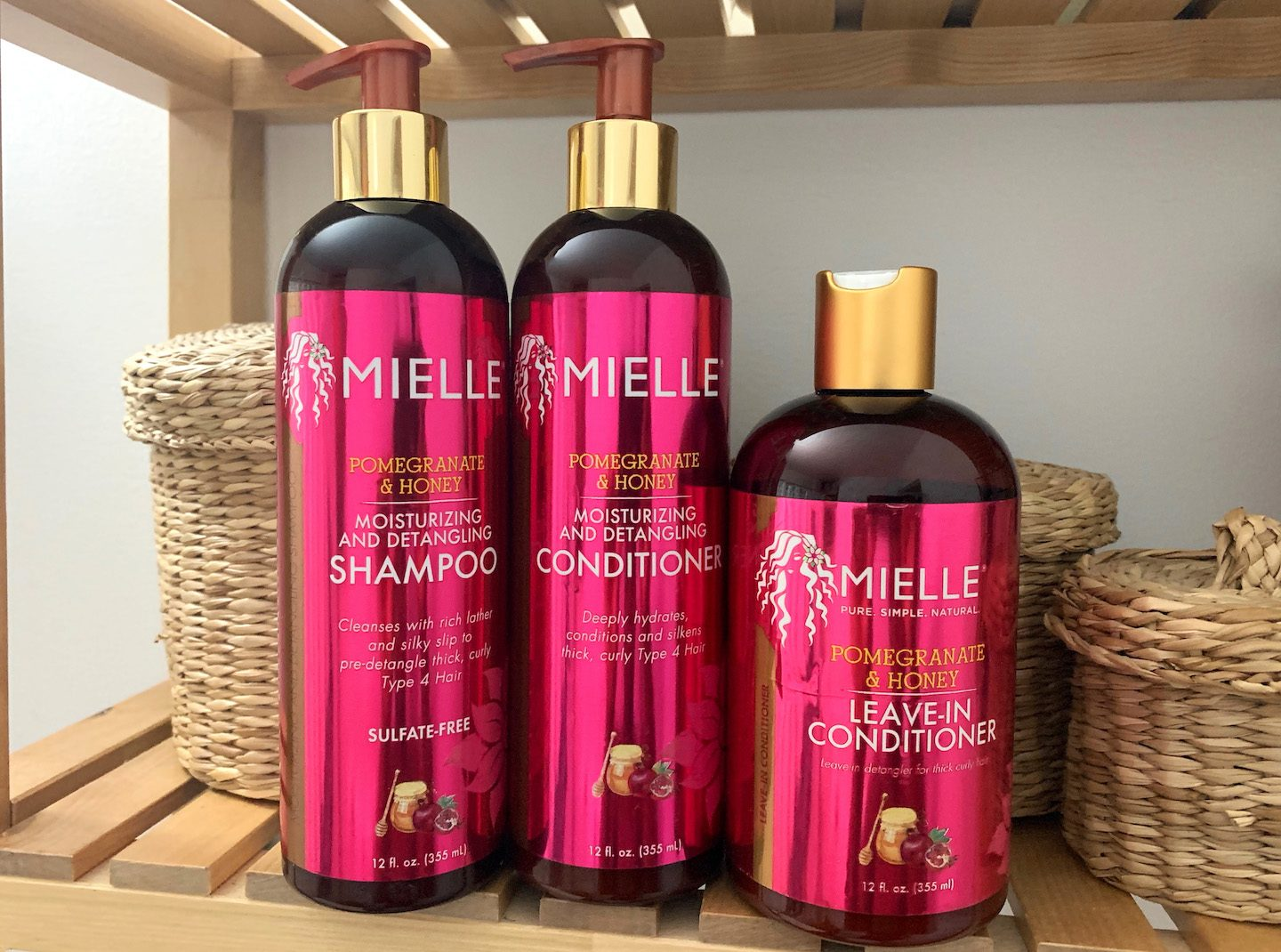 Mielle Organics Pomegranate & Honey Collection Review