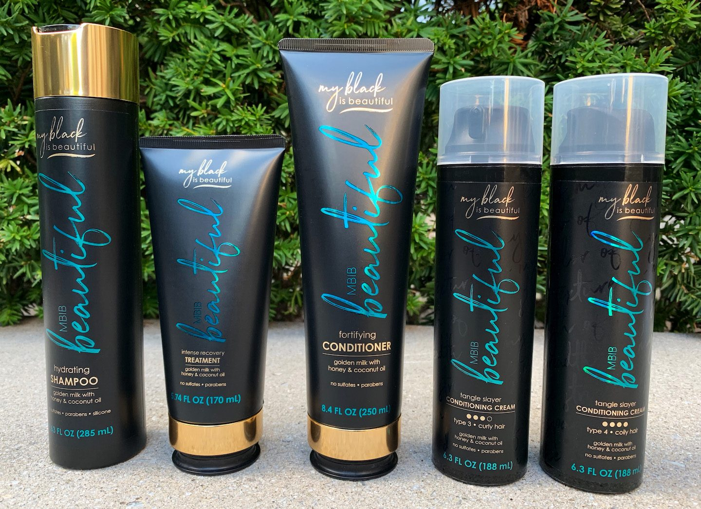 My Black Is Beautiful Golden Milk Collection Review