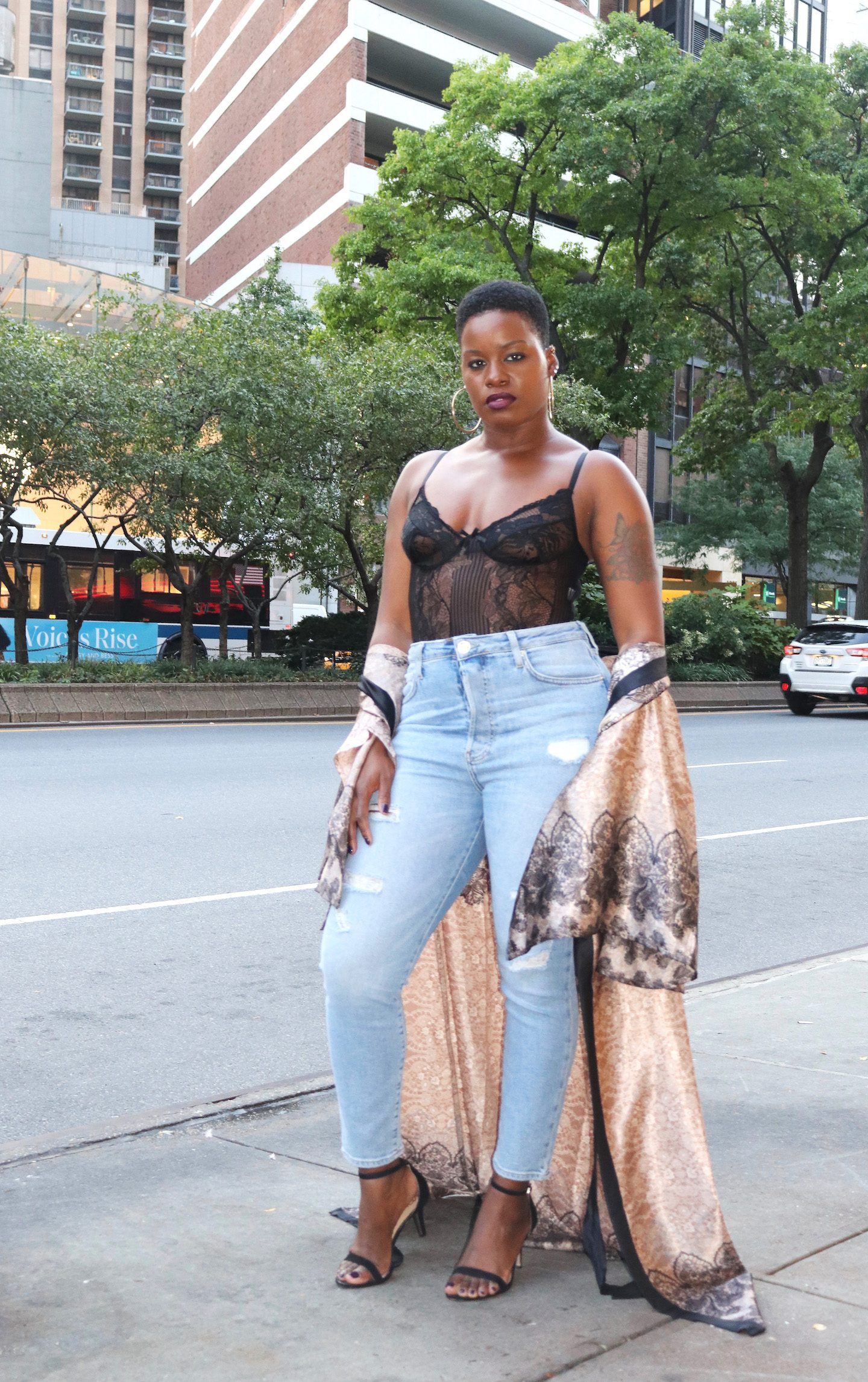 How To Wear A Lace Bodysuit