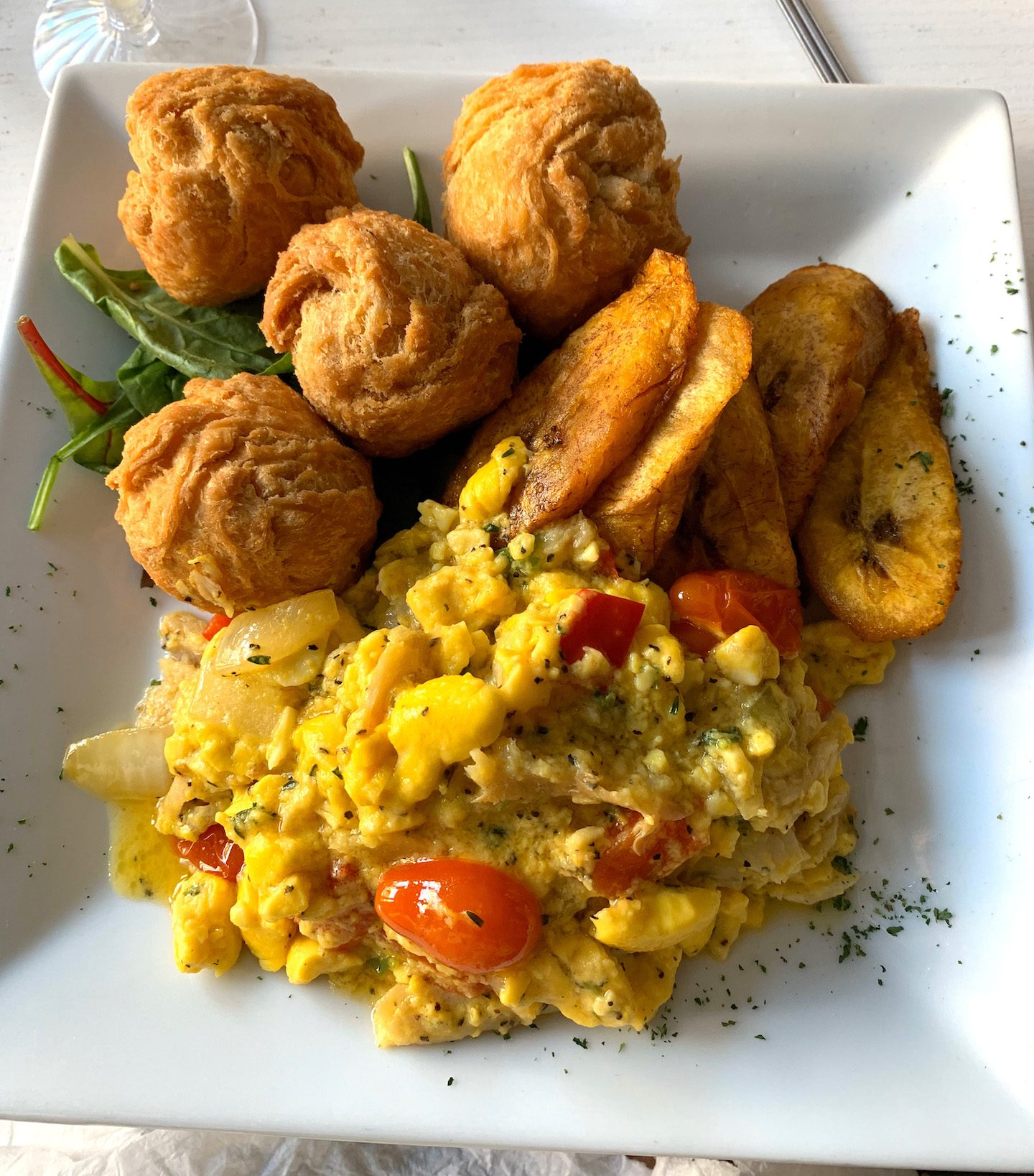 Suite 704 Brunch Ackee & Saltfish