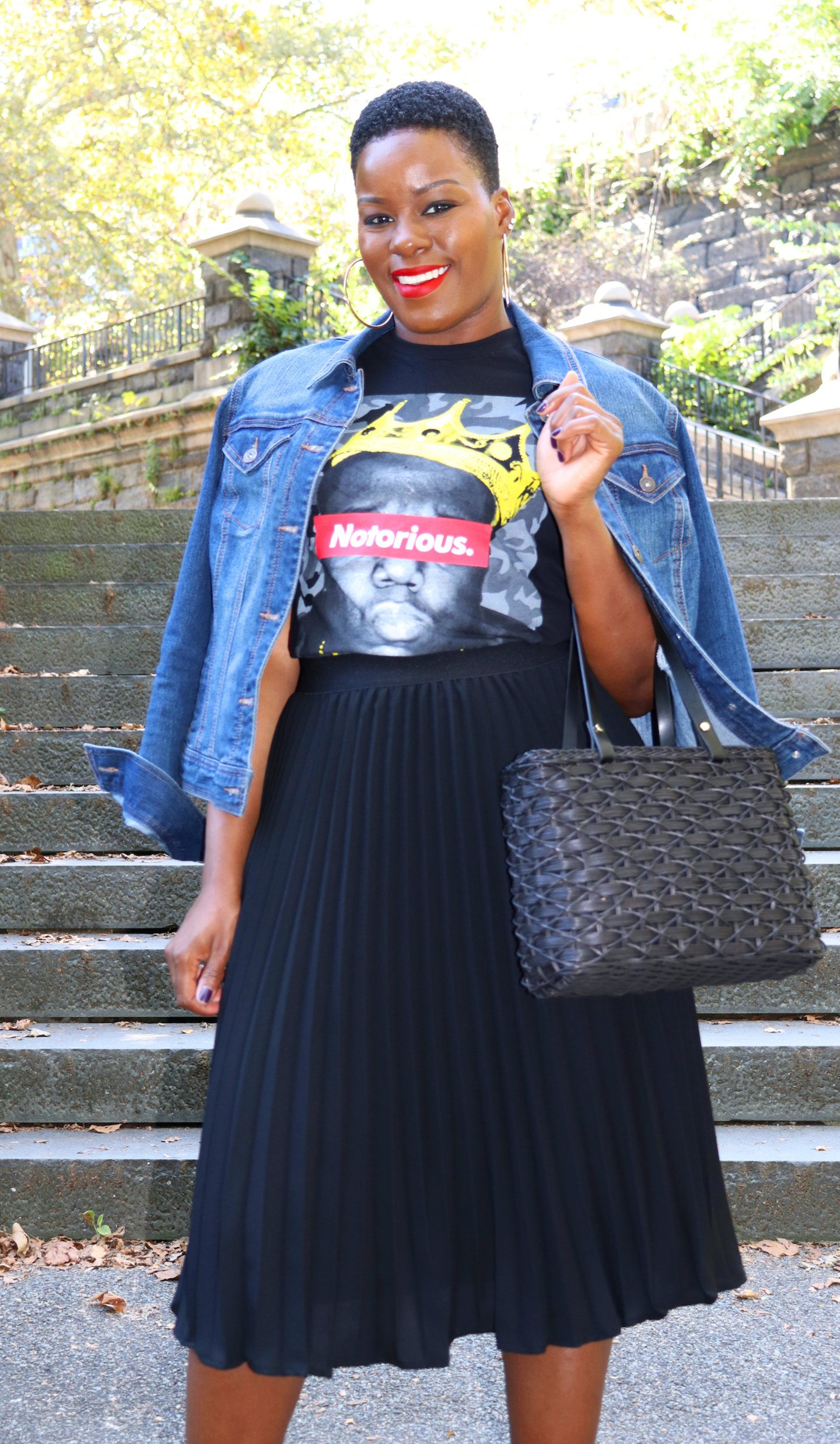 Biggie Graphic Tee Outfit