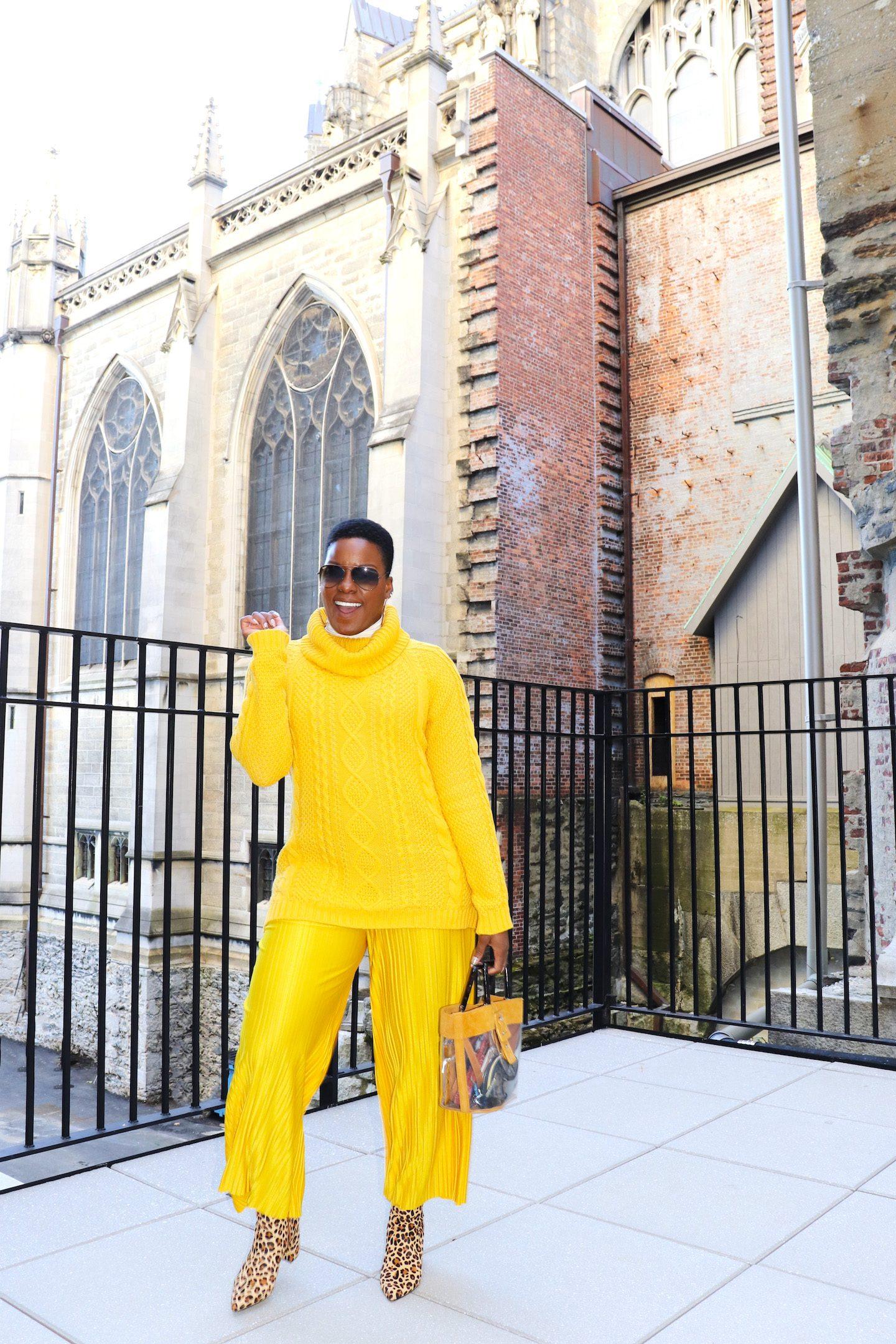 Yellow Is Poppin' On Melanin