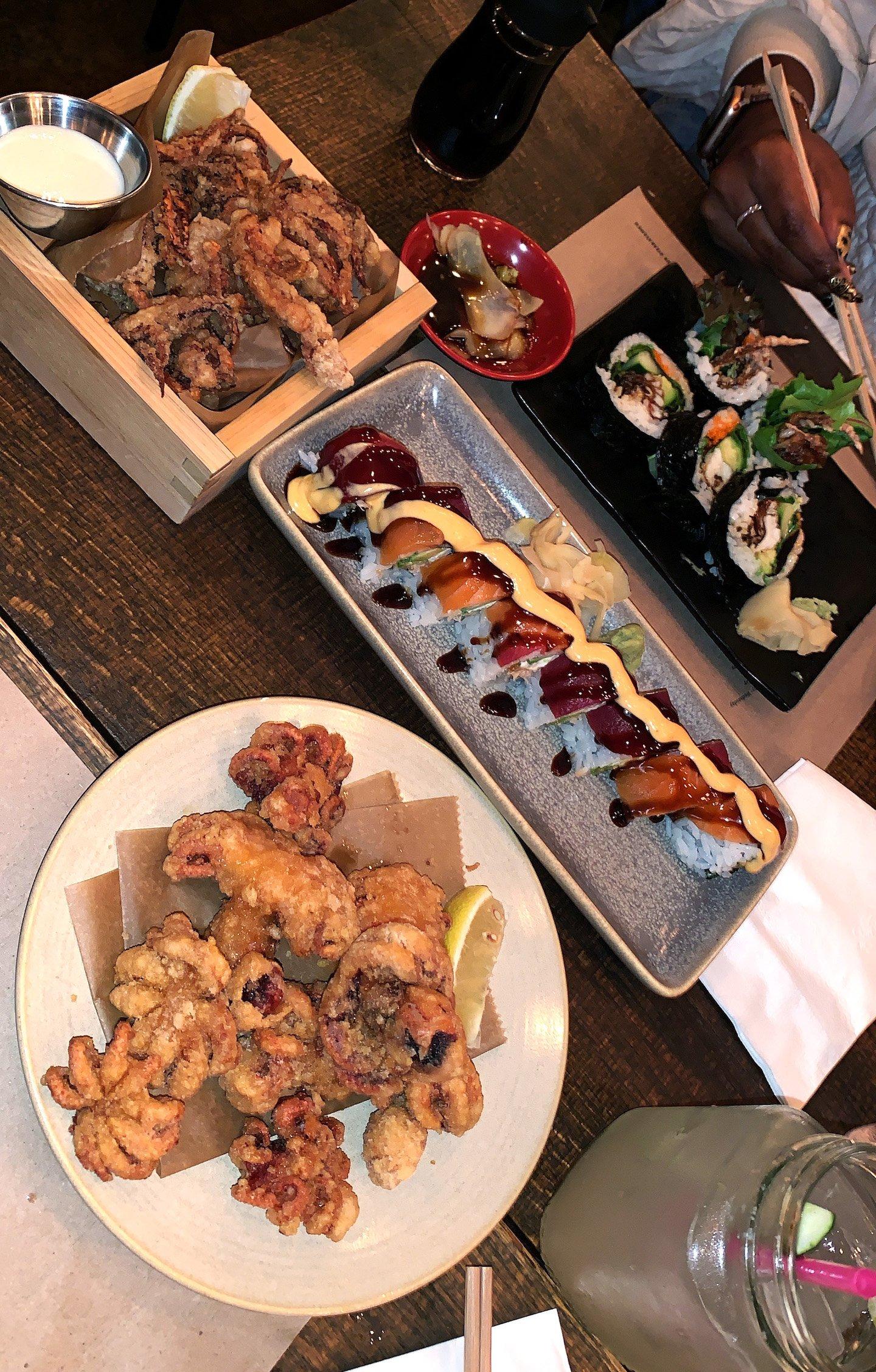 Dinner at Izakaya Mew