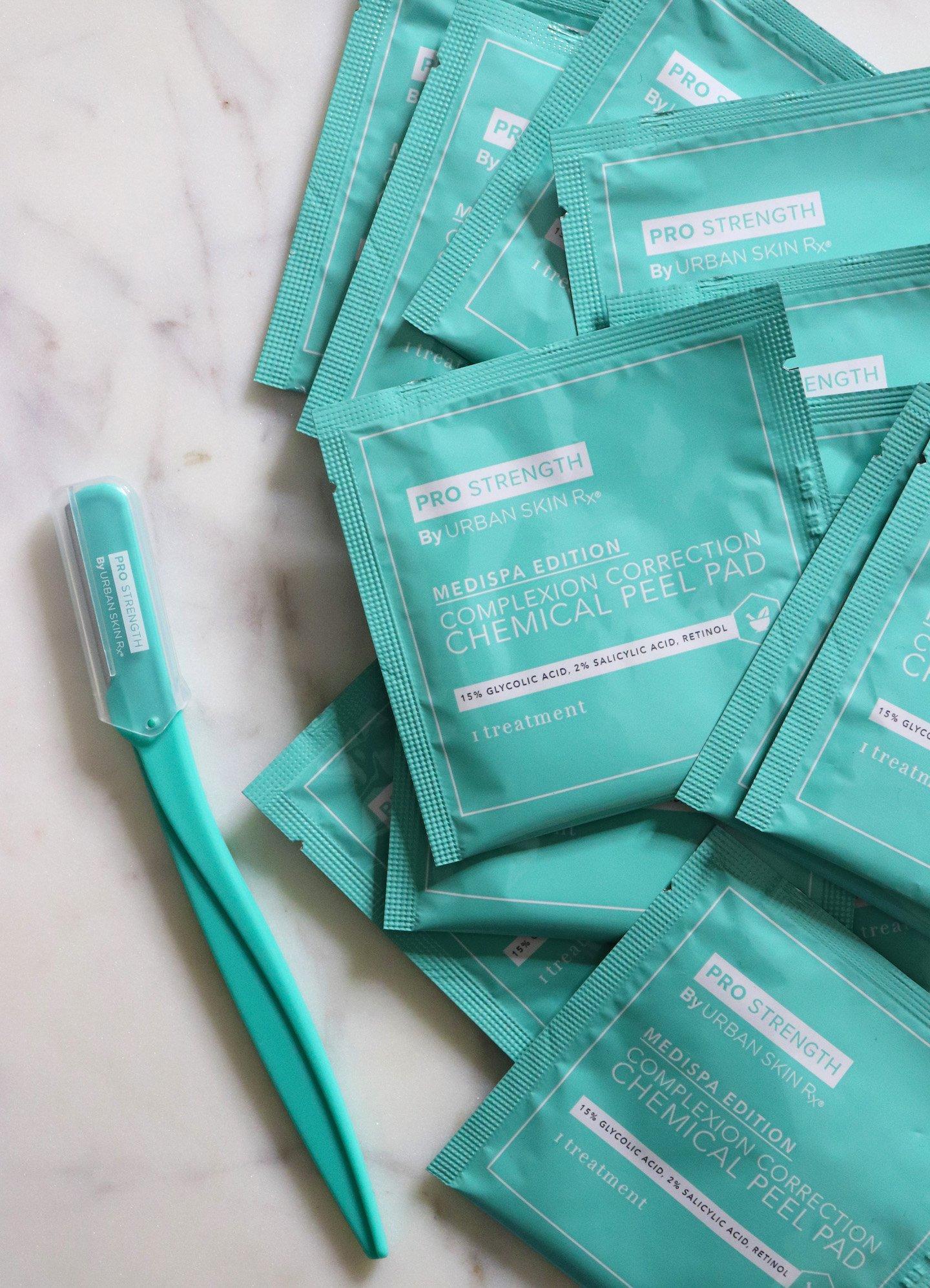 rban Skin Rx Dermapeel Smooth & Glow 2 Step System