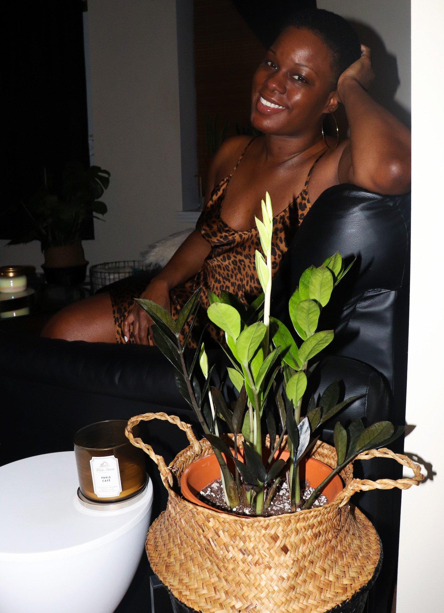 Brooklyn Apartment Living Room Plants