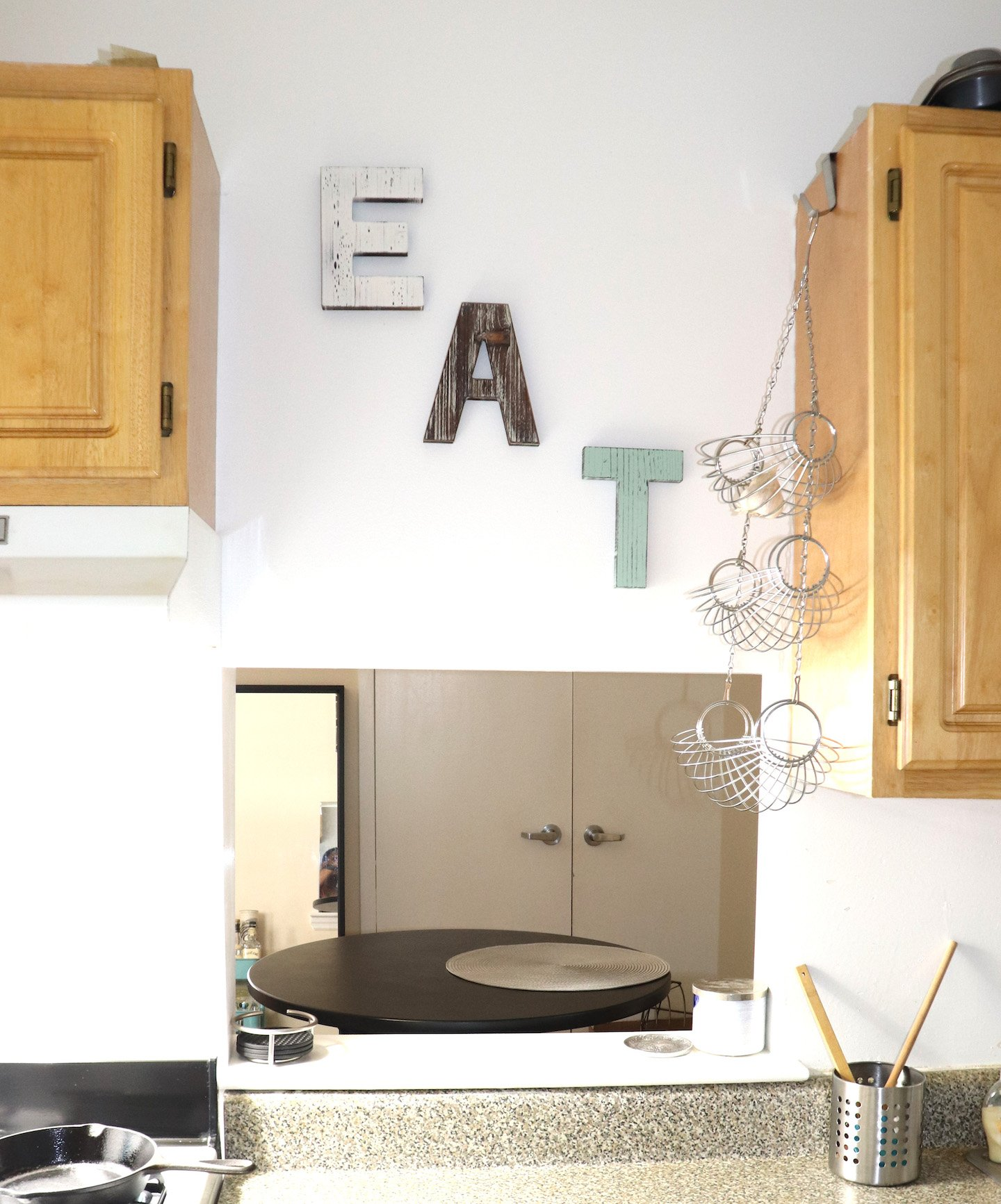 Eat Sign Kitchen Decor