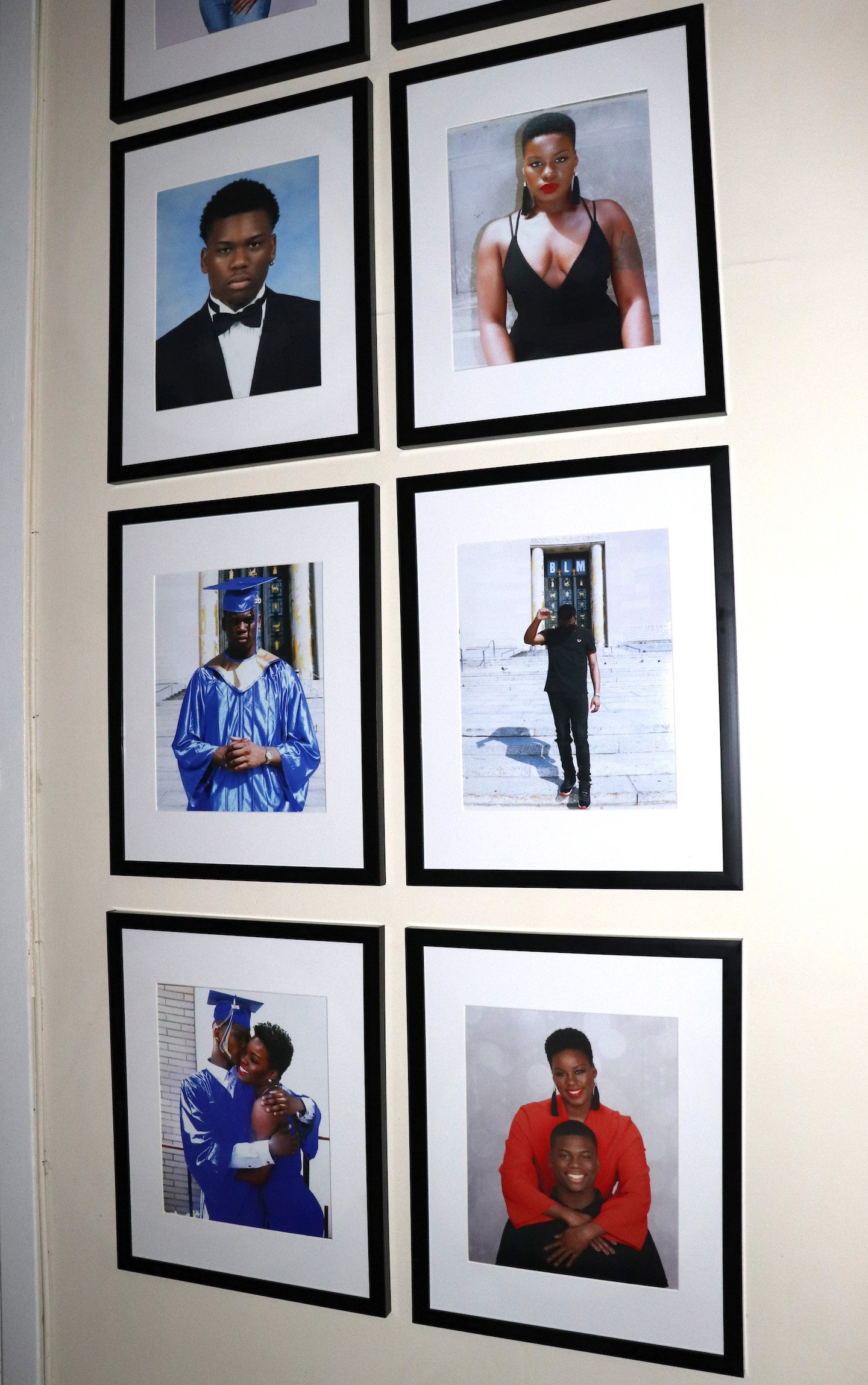 Family Photos Gallery Wall