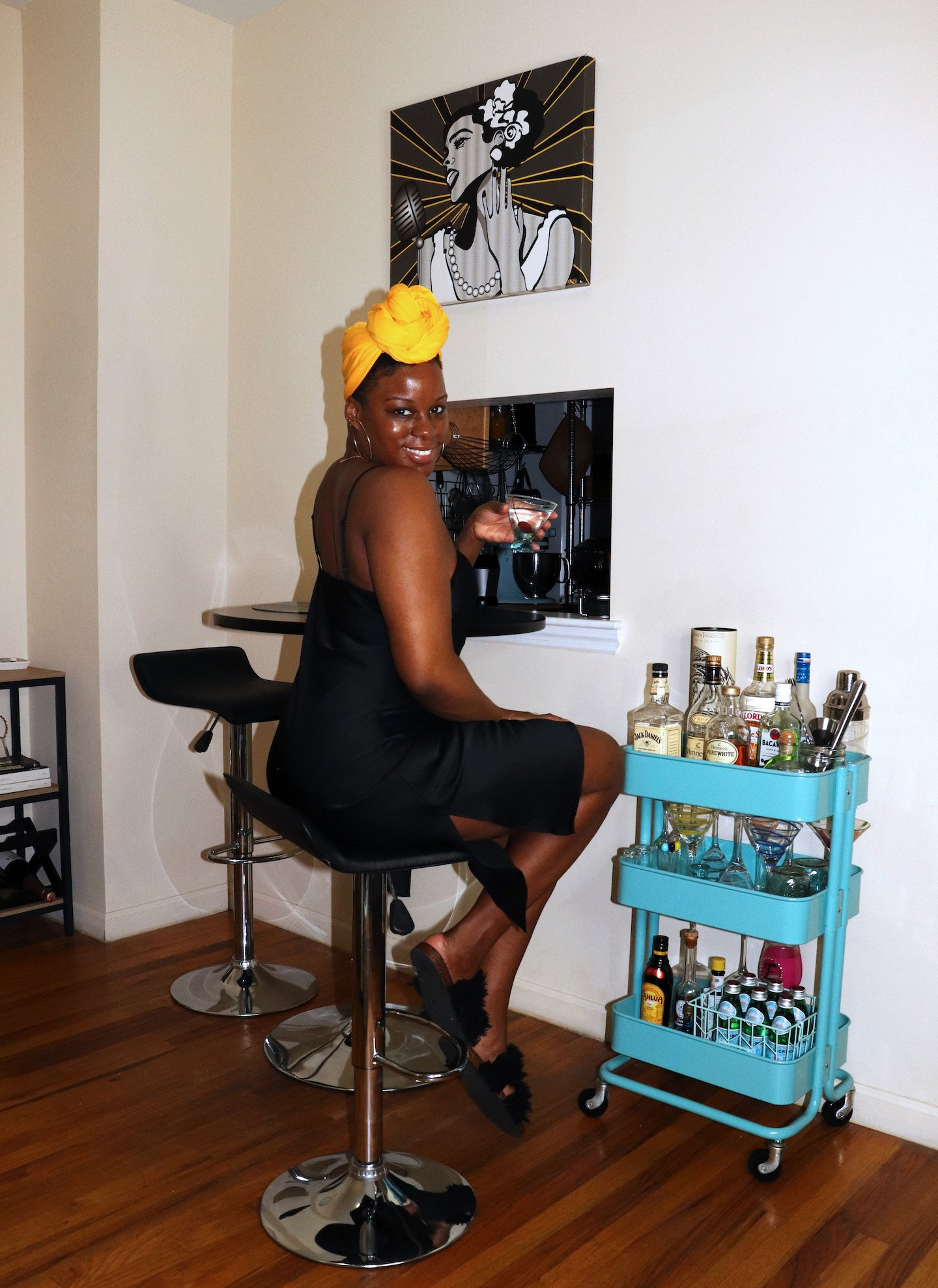 Upgrade Your Happy Hour At Home With A Stylish Bar Cart