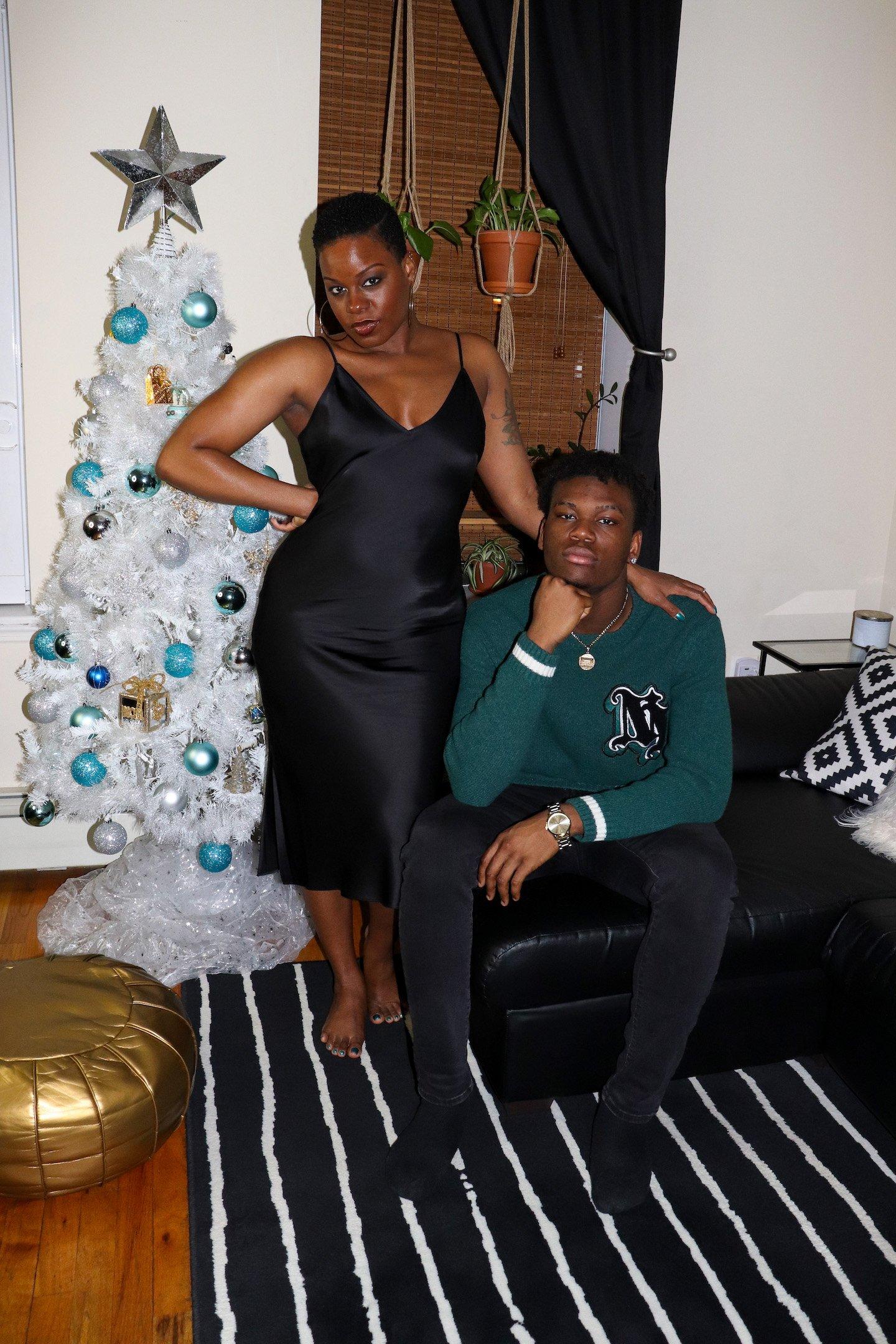 2020 Mom & Son Holiday Photoshoot
