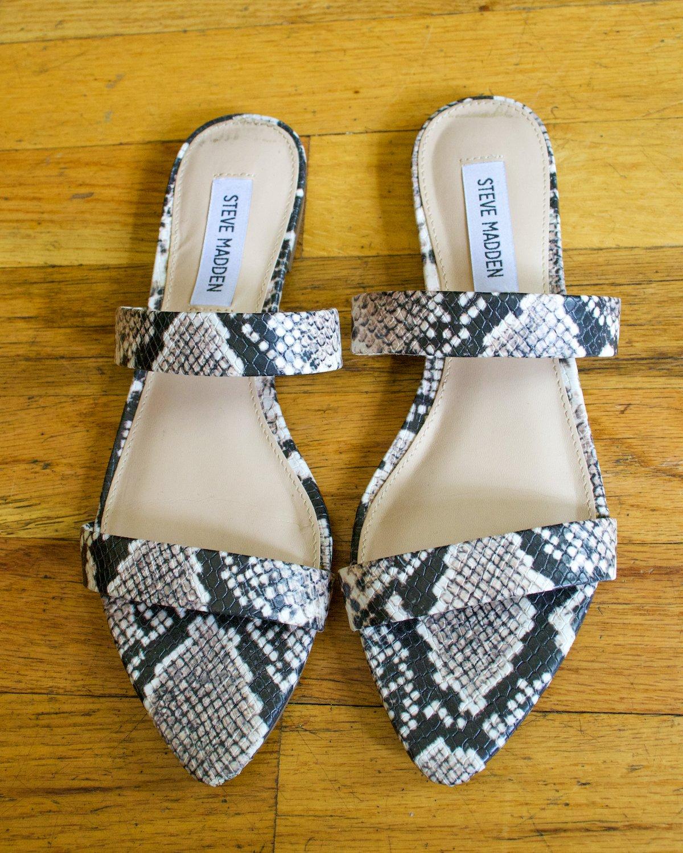Steve Madden Monaco Pointed Toe Flat Sandal