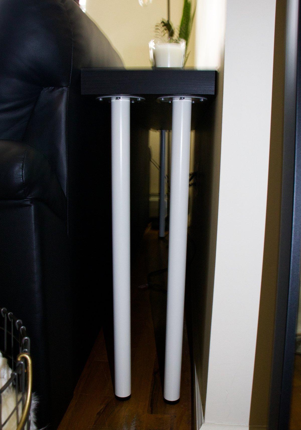Ikea Adils Legs and Lack Shelf Table