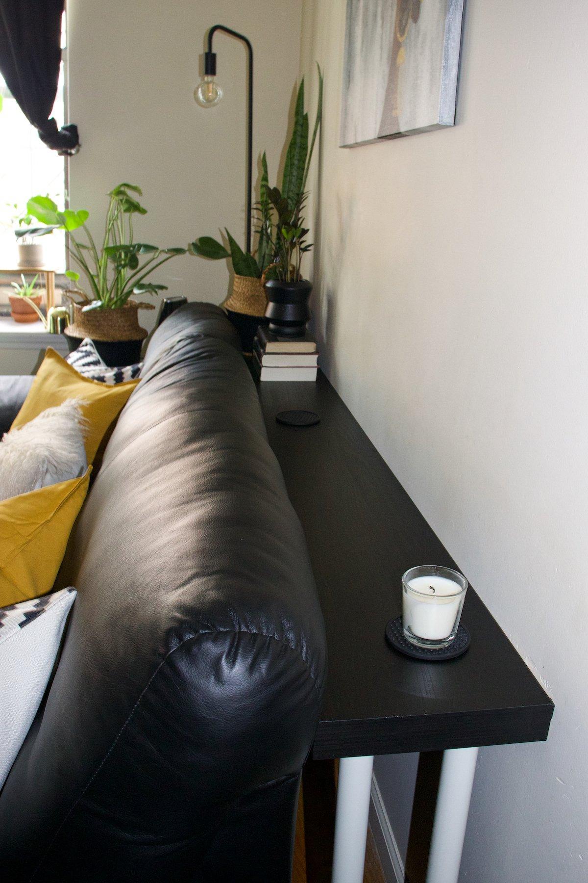 Ikea Lack Shelf Sofa Table